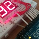 Make a Stevenson Screen with Arduino Part 2 – Display Numerical Values on an Electronic Scoreboard (7 segment LED)