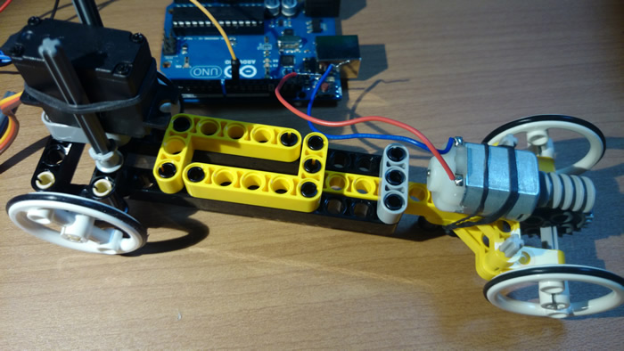 Arduino RC car body