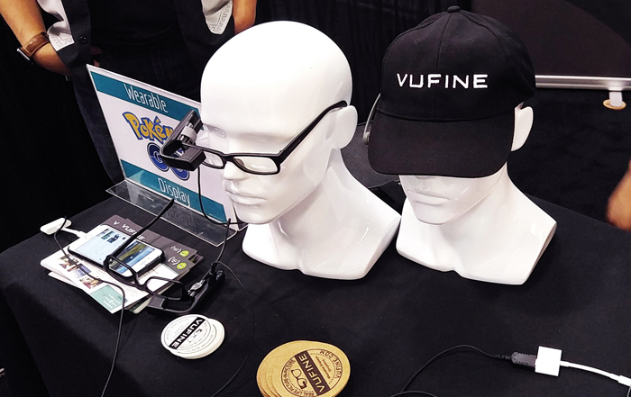 Wearable TechCon 2016 - Vufine