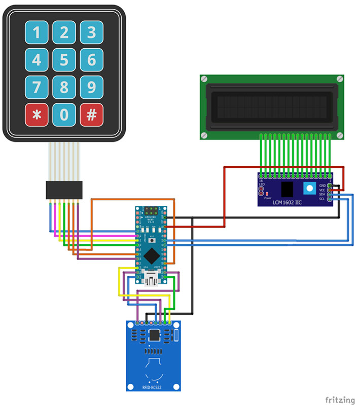 code alarm wiring diagram with Make Your Own Arduino Rfid Door Lock on Arduino Ultrasonic Sensor Based Distance Measurement as well T38552 Howto Install Subwoofer And Fm Modulator In S40 moreover Pir Sensor Light Wiring Diagram in addition Data Cable Wiring Diagram For Homes besides Diy Home Wiring Diagrams.