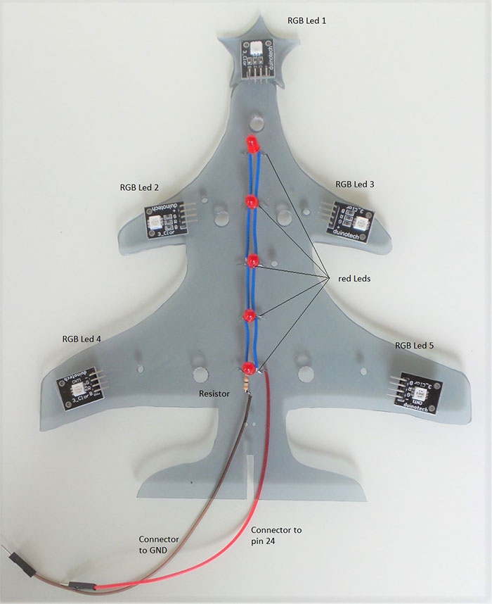 arduino christmas tree