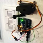 Servo Motor Controlled Wireless Light Switch