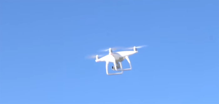 flying a drone in high winds