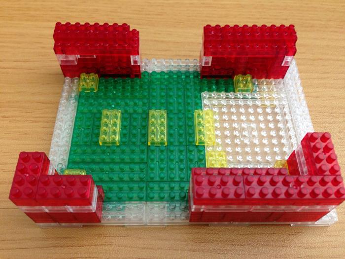 Raspberry Pi Nanoblock case