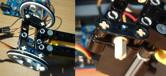 Arduino RC car steering