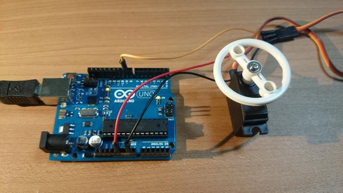 Arduino RC car steering controller