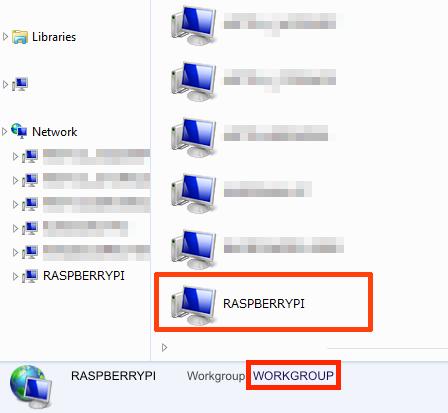 Windows NAS settings