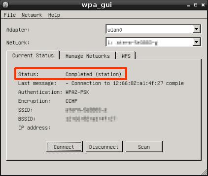 Raspberry Pi WPA