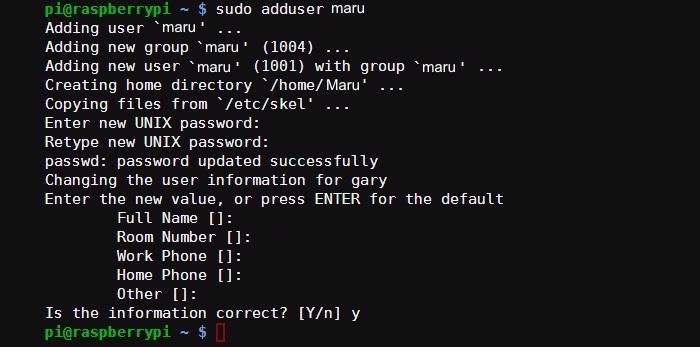 raspberry-pi-add-user