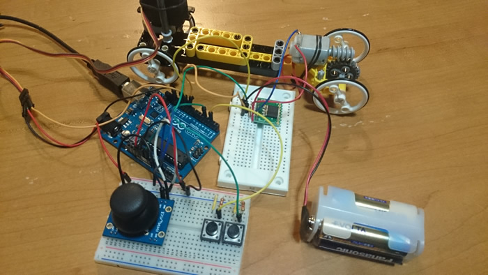 Arduino complete setup for the rc car