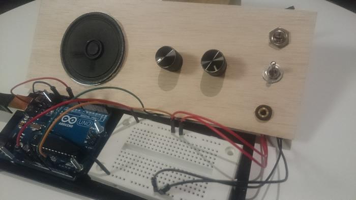 External appearance of instrument gadget