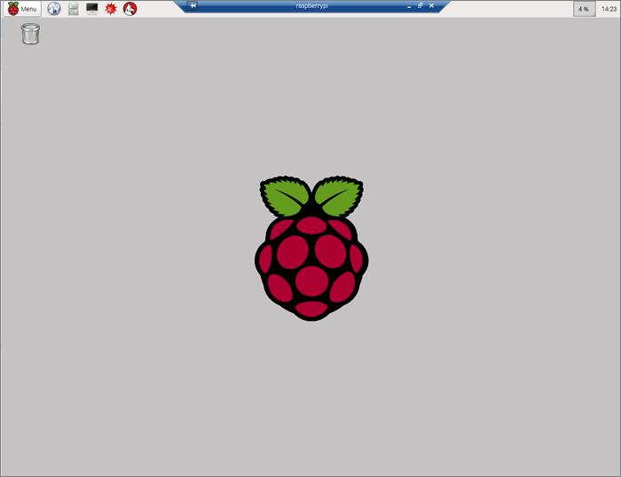 Raspberry Pi Raspbian Desktop