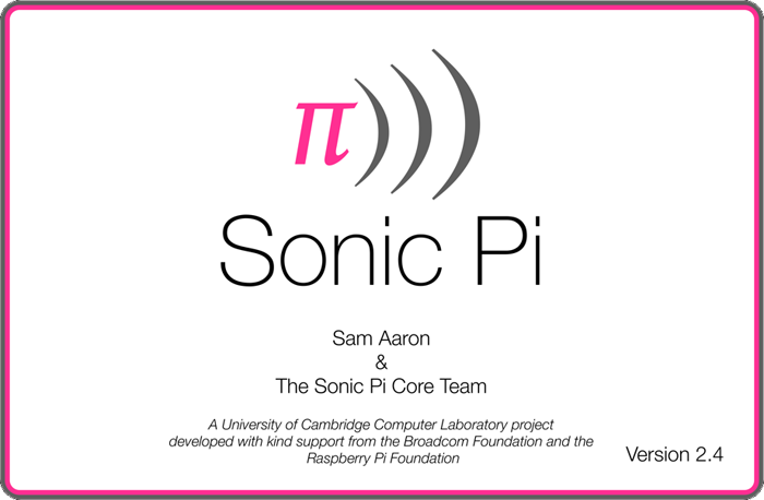 Raspberry Pi Sonic Pi
