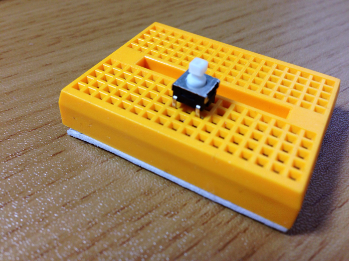 Breadboard with stop button