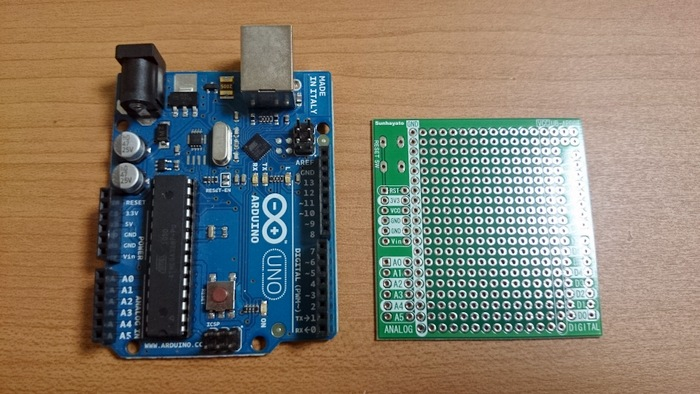 Universal Circuit Board and Arduino