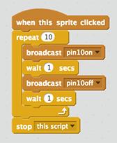 Scratch Script Pin