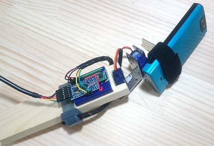 Arduino accelerometer