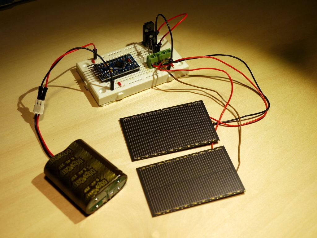 Solar Powered Arduino Part 3
