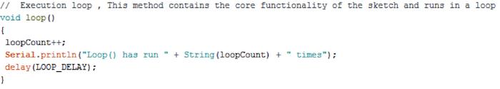 Arduino Loop