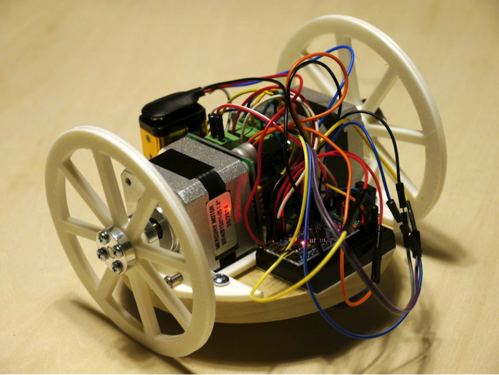 Make Your Own Robot With an Arduino Pro Mini