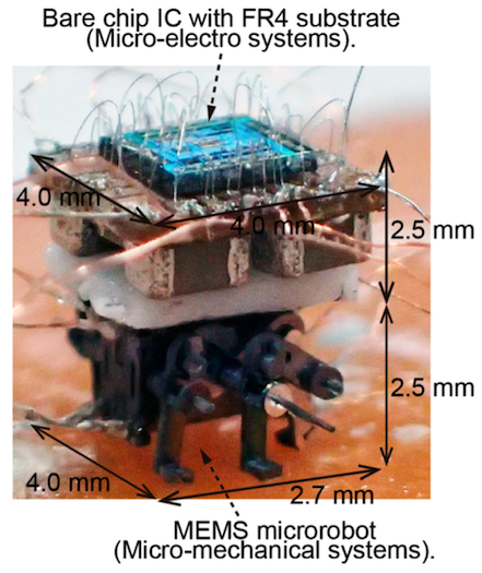 Assembled MEMS microbot