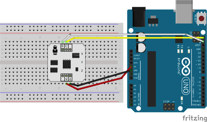 arduino bluetooth gloves sensor connection