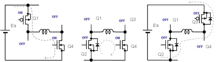 Figure 1. PWM Drive Equivalent Circuit Examples