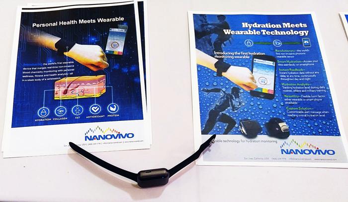 Wearable TechCon 2016 - Nanovivo