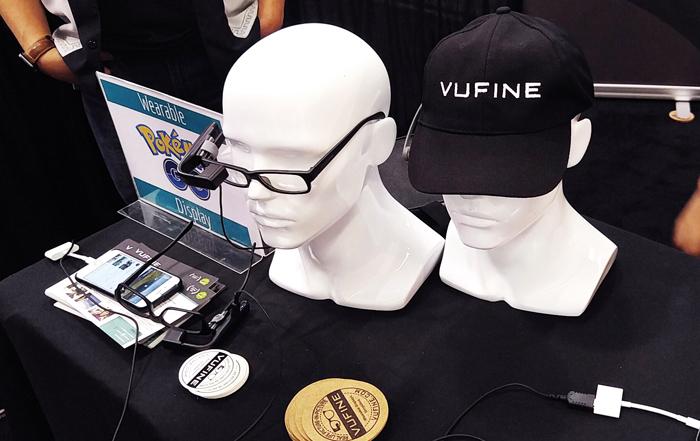 Wearable TechCon 2016 - Vufine