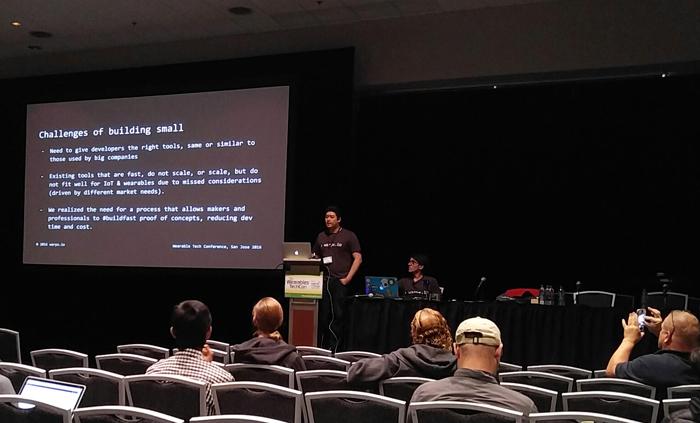 Wearable TechCon 2016 Panel
