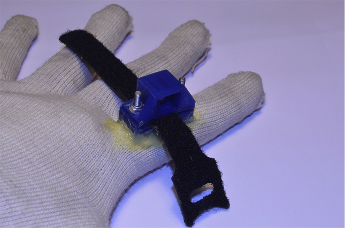 arduino bluetooth gloves