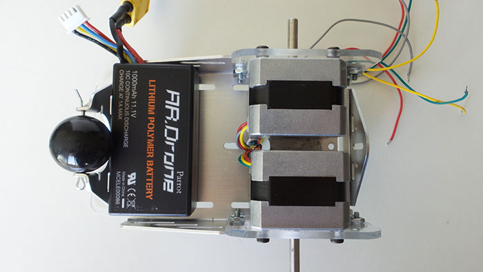 Laser Arduino Robot With Parallax Laser Sensor