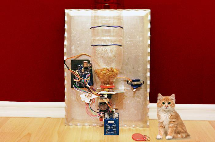 Smart Automatic Pet Feeder With Arduino Uno