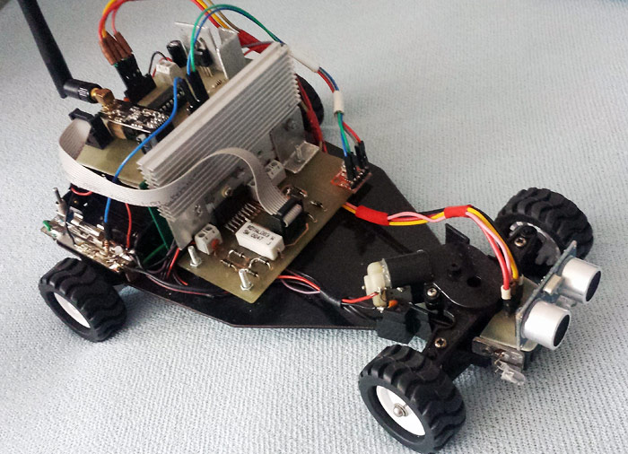 Arduino Robot RF Explorer – Part 2 – Putting Everything