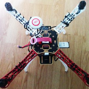 Raspberry pi quadcopter