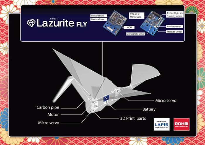 origami crane drone