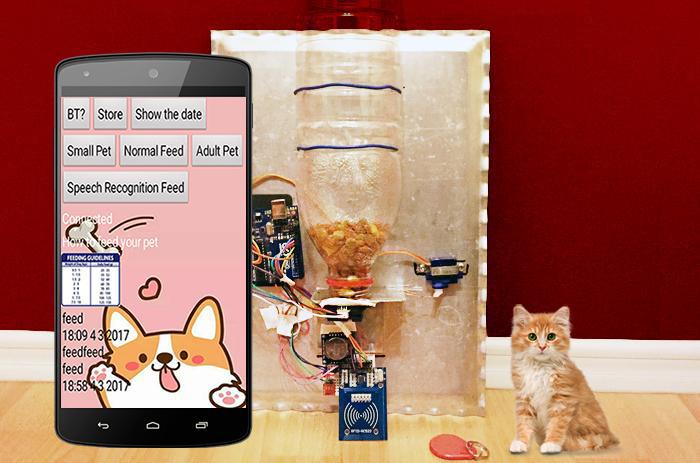 TECH INFO 智能宠物喂食机第2部分—具有语音识别功能的喂食应用程序