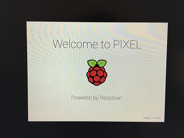 raspbian jessie with pixel