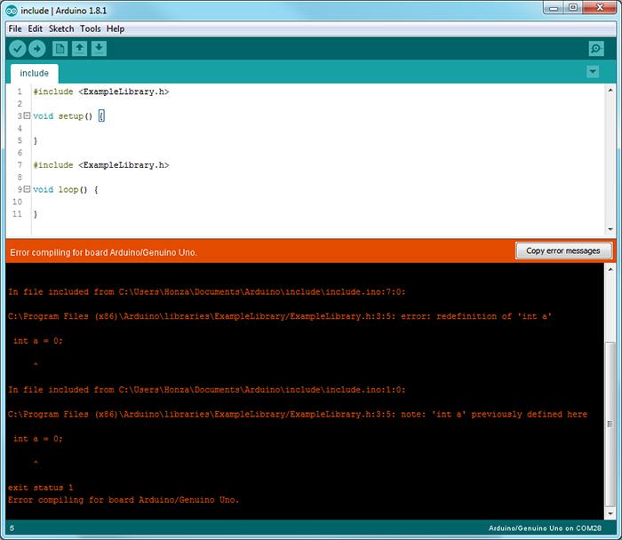 Arduino preprocessor directives tutorial