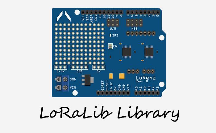 Arduino Long Range Comm  - LoRaLib library