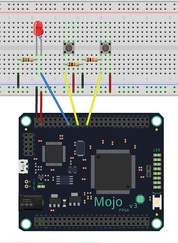 FPGA Tutorial: Intro to FPGAs w/ the Mojo Pt 1