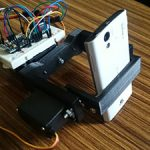 Servo-Controlled DIY Camera Gimbal with Arduino