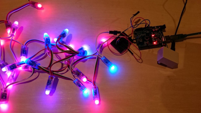 As the holiday season is fast approaching I thought it would be fun to create a decorative lighting using Arduino and full color LED strip light. & Letu0027s Make Arduino LED Holiday Lighting