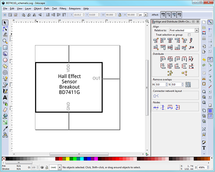 Creating custom parts in fritzing page 3 of 4 device plus schematic for bh1745nuc custom parts in fritzing ccuart Image collections