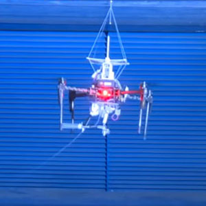 SpiderMAV: A Solution to Drone Perching and Flight Stabilization