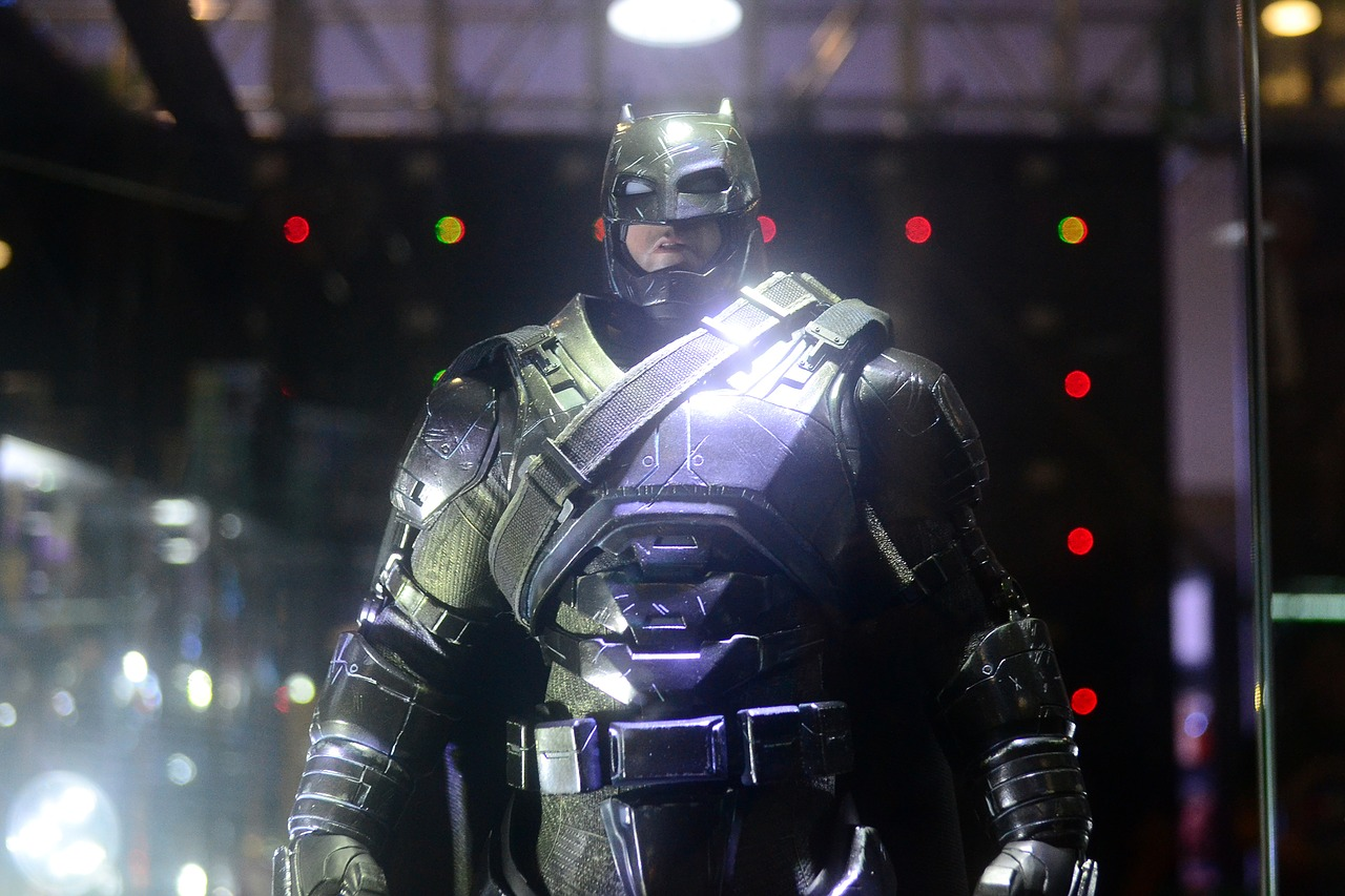 new technology possibilities akin to full 'batman' armor