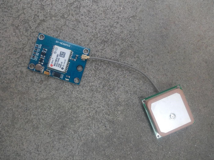 DIY payload delivery drone gps module component