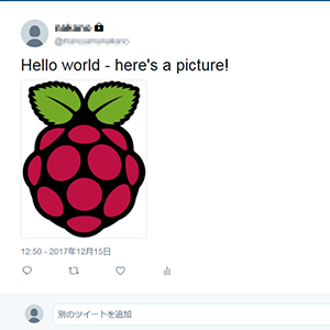 How to tweet an image with Twython