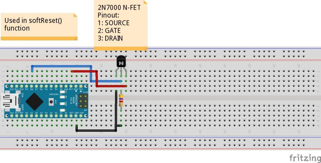 Arduino soft reset