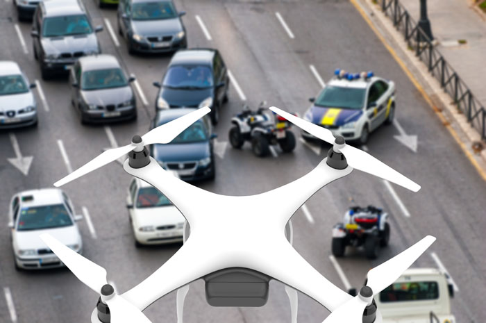police drones for crime scene documentation